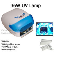 UV Lamp Light Polish Nail Dryer with cooling fan /UV gel Lamp light machine