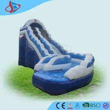 GMIF special curve slide on playground cheap kids inflatable water slides for sale