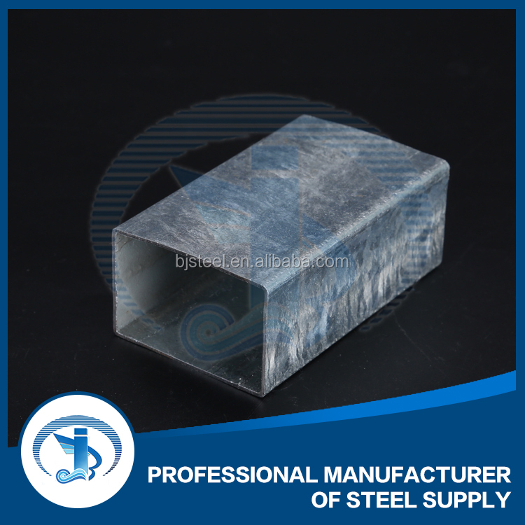 Galvanized Square hollow section steel tube for support in steel pipes st37