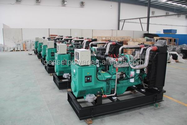 Heavy duty industrial 500kw Natural Gas Electric Generator