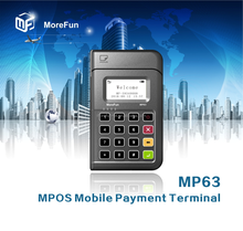 MPOS Mobile Payment Terminal Magnetic Card Reader NFC&IC chip card reader with keypad pinpad pos system all in one