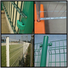 Alibaba cheap wire net mesh fence and metal gate design portable safety fence