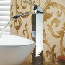 wall mounted washbasin waterfall basin mixer