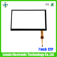High quality capacitive touch screen replacement android tablet 7""