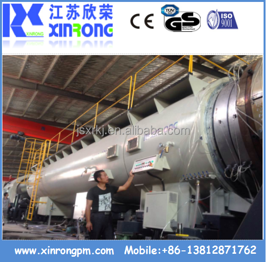 High Efficiency 1600mm PE Pipe Production Line / Extruder / Extruder Machine / Extrusion Line