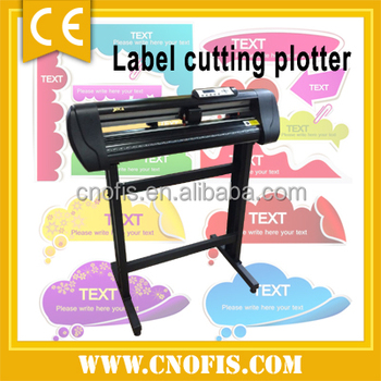 OFIS automatic paper pvc label die cutting plotter machine