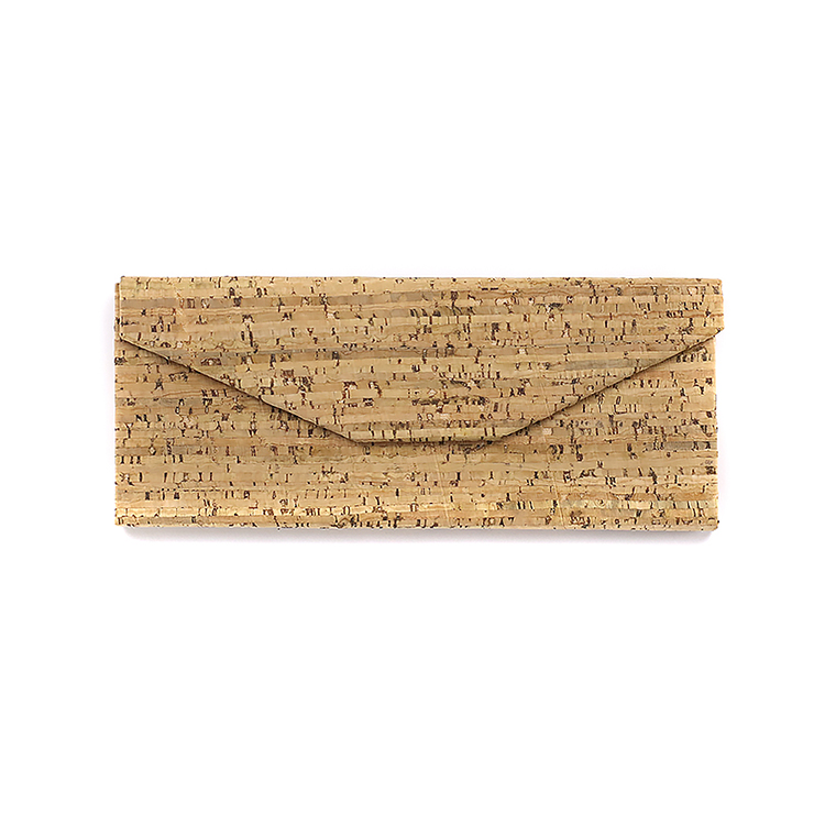 Hot selling folding reading glasses case wood grain PU sunglasses packaging boxes glasses case