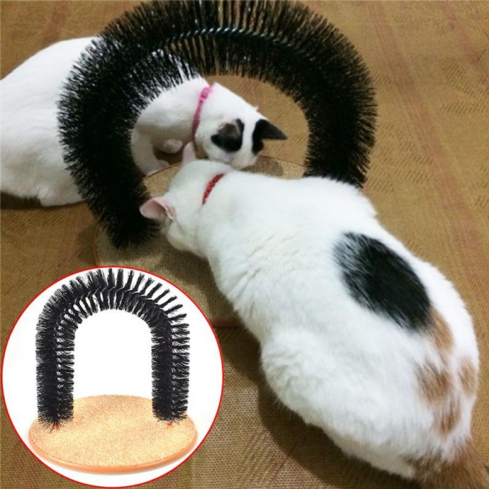 Kitty Cat Perch Scratcher Pet Furniture Post Tree Toy Scratching Perfect Arch