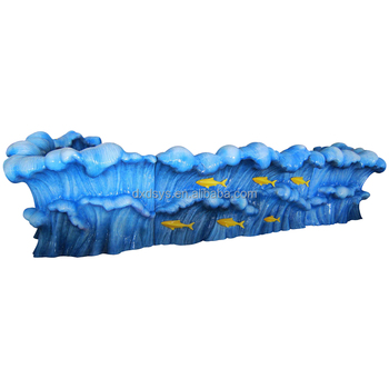 Fiberglass Playground Ocean Counter