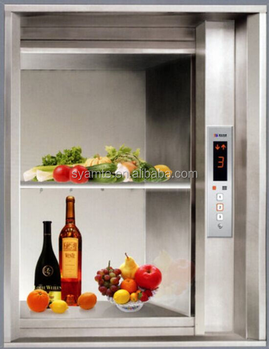 Electric dumb waiter restaurant lift residential kitchen food elevator