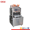 vacuum and nitrogen filling food tray sealing machine