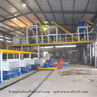 precast lightweight partition wall panel production line