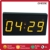 Big Blue Red LED Repeating Count up Timer Swimming Digital Pace Clock