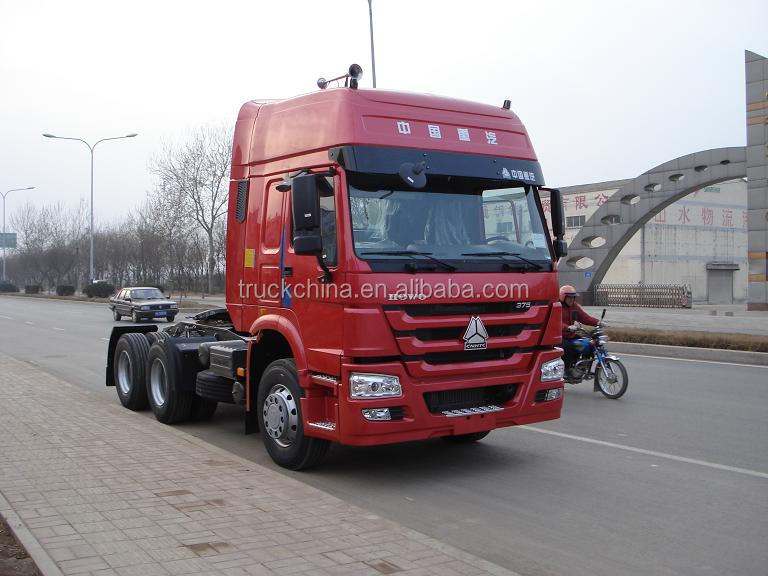 Sinotruck howo 6x4 tractor truck head camion truck for hot sale