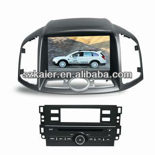 sell centrais multimidia for Chevrolet Captiva with GPS/Bluetooth/Radio/SWC/Virtual 6CD/3G internet/ATV/iPod/720P RM/720P RMVB