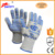 CE EN407 Heat Resistant Cooking Kitchen Glove Oven Mitts and Hot Pot Holder