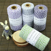 2015 new coming 10 mm waxed braided cotton twine