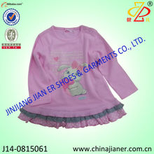 Custom the 100% cotton printed baby t shirts manufacturer china