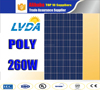 Excellent quality High efficiency price 260W polycrystalline solar panel for Brazil market