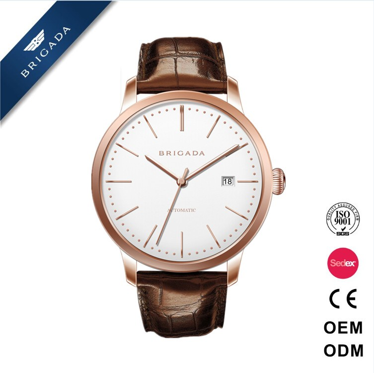 Trend design quartz watch 24k gold watches quartz watch, mens watches top brand 5 atm water resistant stainless steel watch