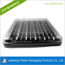 2017 Hot Selling Clear Plastic Blister Clamshell Macarons Packaging Boxes /Macaron packaging Tray With Lids