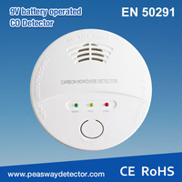 Carbon monoxide detector included battery