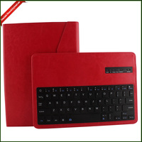 Bluetooth Keyboard Case , PU leather Keyboard Cover Computer Case for ipad air