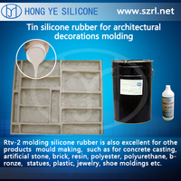 molding liquid silicone rubber for GRC cement products
