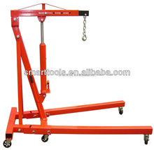 1T Foldable Hydraulic Car Engine Crane
