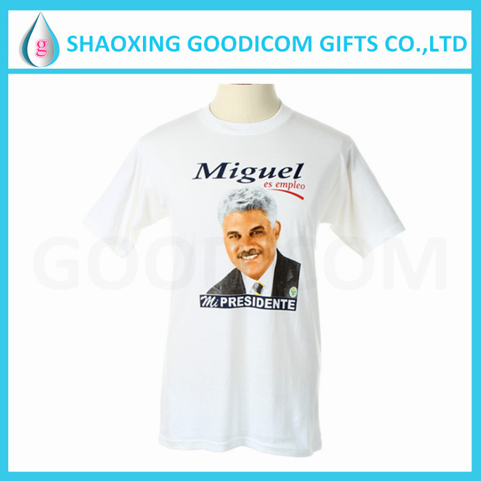 customized printed election cotton t shirt for vote