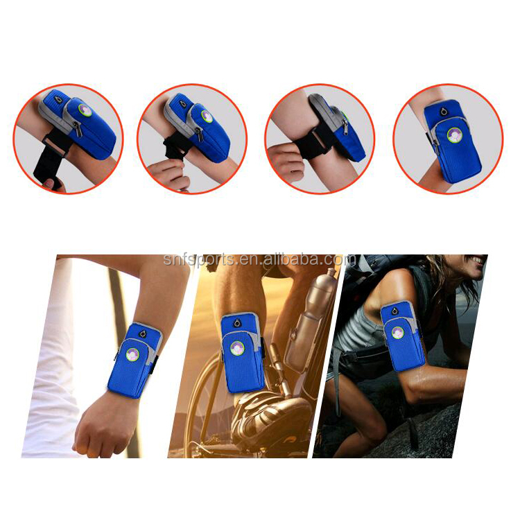 Double Bag sport wrist pouch,mobile phone <strong>accessories</strong> outdoor sport arm bag