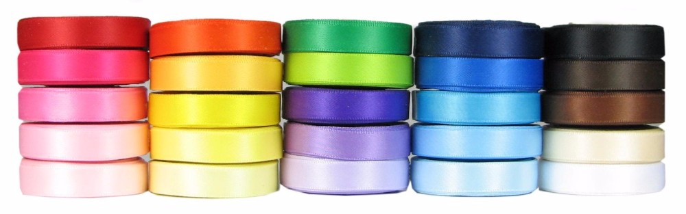 The largest ribbon factory custom all kinds polyester satin ribbon/grosgrain ribbon/organza ribbon