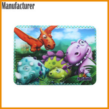 AY Full Color Sublimation Printing Dinosaur Table Mate Commercial Plastic Mat Under Dining Table Rubber Placemat, Table Mat