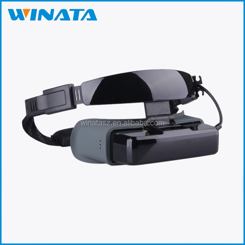 Long battery life 84inch TV video glasses 3D movies