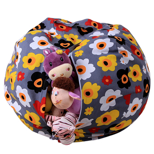 2019 Cheap Folding Large Kids Toy Storage Bag, Portable durable Toy Buggy Toy Bag, Factory OEM Custom Stuffed Animal Storage Bag
