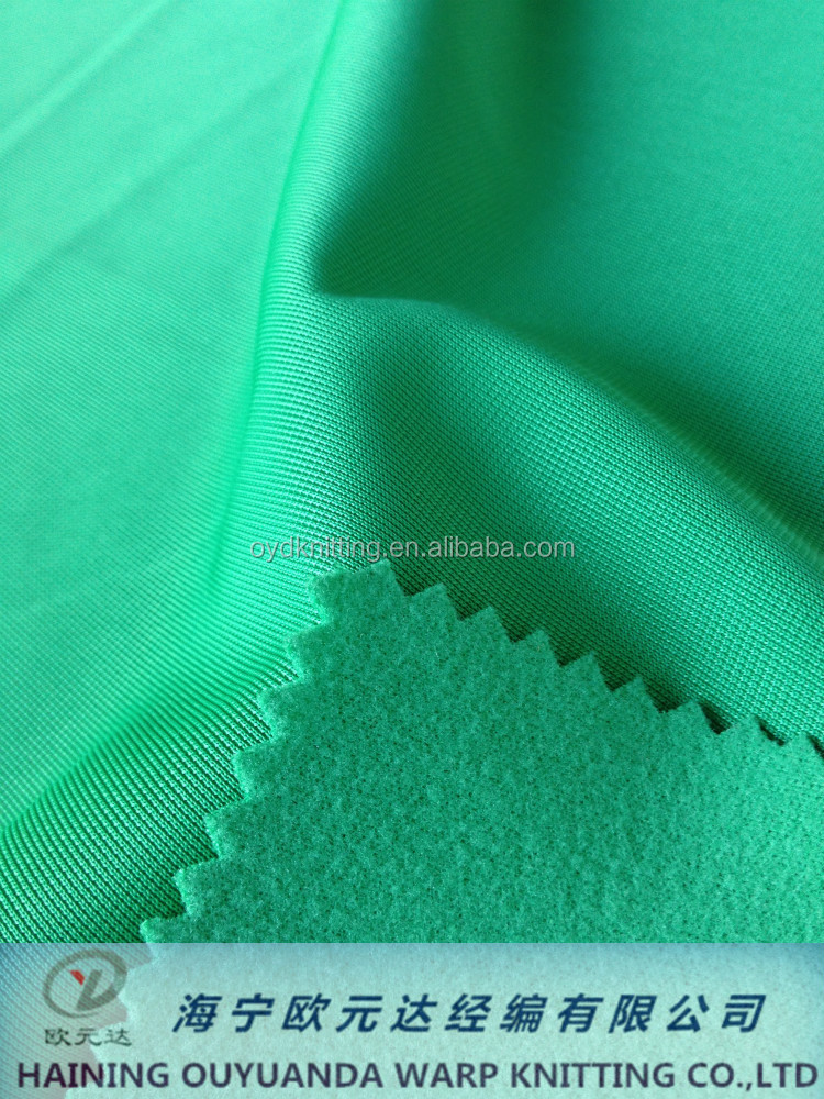 China Supplier Factory Super Poly Tricot Brushed Fabric Textile for Sportswear/Clothing Fabric