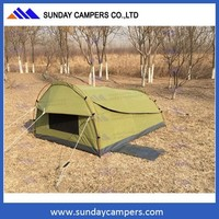 XXL King Single Swag Camping Swags Canvas Tent Deluxe Extra Large