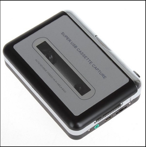 USB Cassette Capture Recorder Radio Player and Tape to PC Super Portable USB Cassette to MP3 Converter