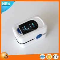 OLED display mini clip spo2 sensor monitor 4 directions finger pulse oximeter