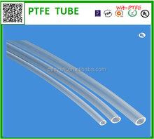 High temperature resistant transparent thin wall teflon tube for 3d printer
