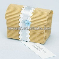 gold wedding post treasure boxes wholesale