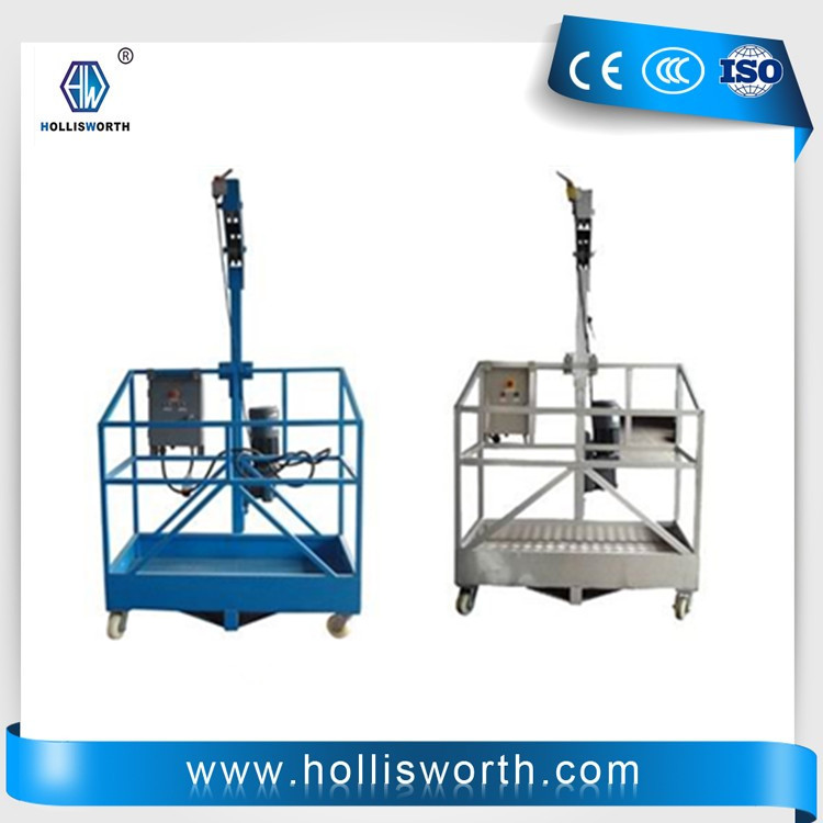 Electric motion platform ZLP series working platform 800kg rated load Window cleaning gondola