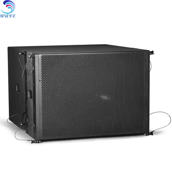 Directed loaded Single 18inch Subwoofer for Quality PA performance