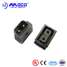 2 pin Dtap female and male gender power connector