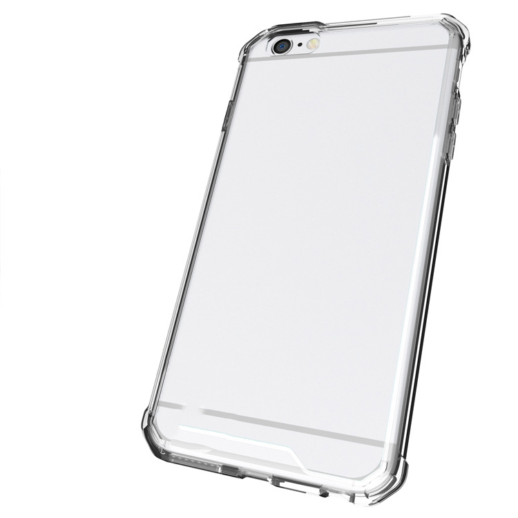 High quality phone accessories acrylic tpu phone clear case for iphone 6
