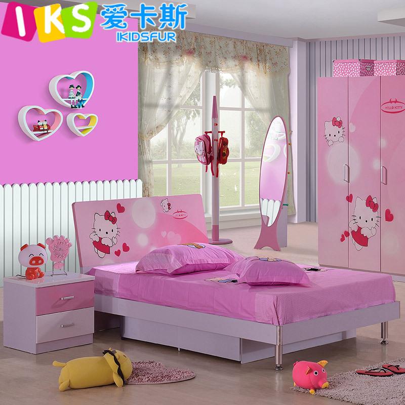 modern kids bedroom furniture princess single bed buy hello kitty
