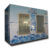 Glass doors Ice storage freezer -12C for packaged ice
