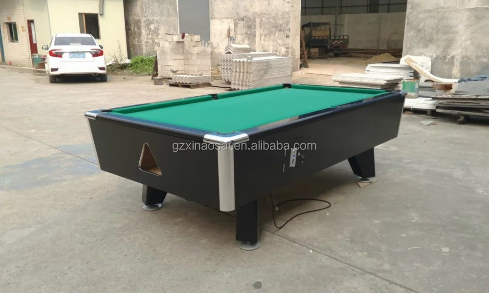 Cheap Professional Light Solid Wood Slate 7ft Coin Operated Pool Table