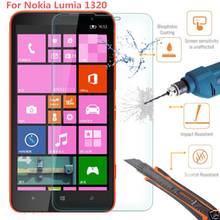 PREMIUM NEW TEMPERED GLASS FILM SCREEN PROTECTOR GUARD FOR NOKIA LUMIA 1320