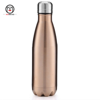 Cheap 2018 double wall stainless steel white water bottle for tarvel